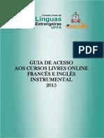 Guia de Acesso Aos Cursos Livres Online 2015