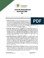 Gaceta Enero 2018 CORTE SUPREMA DE JUSTICIA