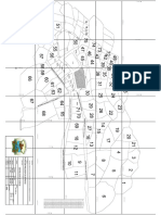 Plano de Distribucin de Terreno de Porvenir