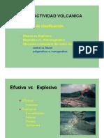 4 Tipos de Actividad Volcanica