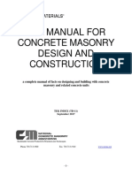 2016-10 TEK Index Masonry Design