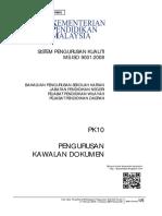PK10 Pengurusan Kawalan Dokumen