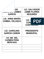 Etiquetas Presidium