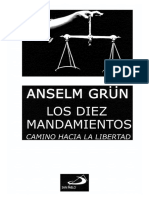 1.- ANSELM GRÜN - Los Diez Mandamientos
