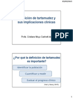 1. Definicion de Tartamudez y Sus Implicaciones Clínicas