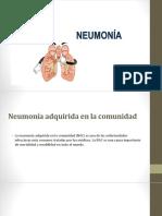 fármacos intra y extra hospitalarios en la Neumonía