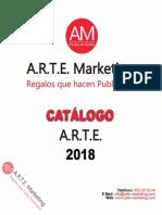 Catálogo Arte Marketing - A.R.T.E. 2018