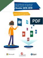 Guía del Programa 2018-2019