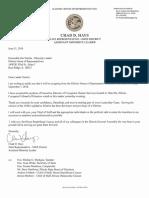 Hays Resigns