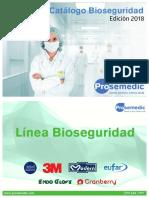 Catálogo Bioseguridad - 2018