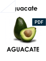 Alfabeto de Pared Frutas y Verduras