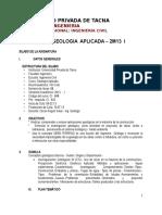Silabo Geología Aplic.2M13 - I