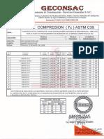 Formato Modelo Ensayos de Compresión