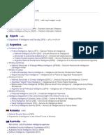 List of Intelligence Agencies - Wikipedia