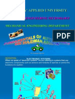 Fundamentals of AUTOTRONICS
