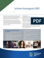 Artistes émergents RBC