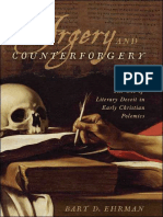 Bart D. Ehrman, Forgery and Counterforgery. the Use of Literary Deceit in Early Christian Polemics