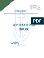 INSPECCION TECNICA EN OBRAS clase 2.pdf