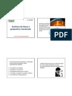 2 - Tectônica de Placas e Geoquímica Relacionada (1)