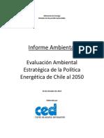 Informe Ambiental EAE Politica Energetica 2050