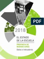 El Estado de La Escuela en La Provincia de Buenos Aires