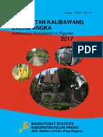 Kecamatan Kalibawang Dalam Angka 2017