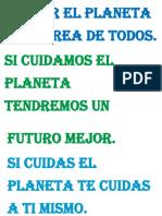Cuidar el planeta es  tarea de todos.docx