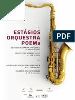 Estágio de Orquestra e Banda Sinfónica 2018 - POEMa.pages