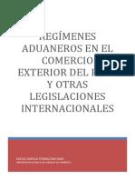 Diego , Regimen Aduanero