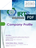 IRTS-Global Official-Profile- Tank Inspection Robotics