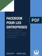 Facebook Pour Les Entreprises. Creer Animer Et Promouvoir La Page Facebook de Votre Entreprise H. Paris M. Calvo 2013