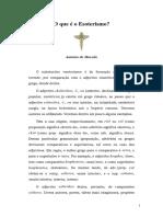 O Que é Esoterismo.pdf