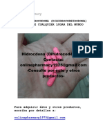 Online Pharmacy - Comprar Hidrocodona (Dihidrocodeidona) Online