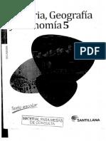 Historia, Geografia y Economia Nivel 5