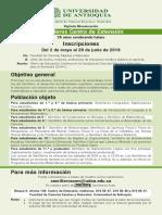 Circular Semilleros Fcen - 2018-II