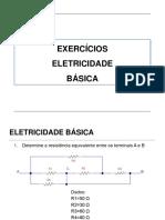 Exercícios Eletricidade Básica Respostas