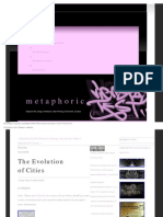 The Evolution of Cities - Metaphoric - Metaphoric