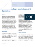 CWDM Technology Applications and Operations 05.29.08