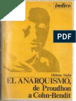Saña, Heleno - El Anarquismo, De Proudhon a Cohn-Bendit [Anarquismo en PDF]