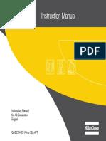 Manual Generado Atlas Copco QAS 325