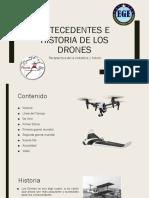Antecedente de Drones