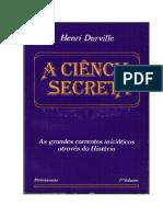 A Ciencia Secreta - Henri-Durville - Vol I.pdf