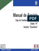 Manual de Servicio caja de de cambios ZF 16S- 1650