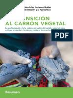 FAO La Transicion Al Carbon Vegetal
