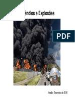 Incendios e Explosões - UFRJ