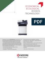 Ecosys m6630cidn Series Spec Sheet