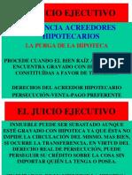 (8c) Existencia Acreedores Hipotecarios. Purga de La Hipoteca.