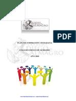 Plan Formacion Ciudadana 2018