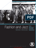 Fashion and Jazz Dress, Identity and Subcultural Improvisation