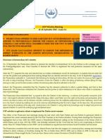OTP Weekly Briefing - 14-20 September 2010 - Issue #55